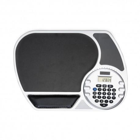 Mouse pad grande com calculadora plástica