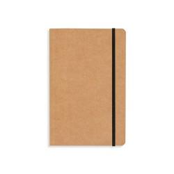 Caderneta tipo Moleskine de Kraft