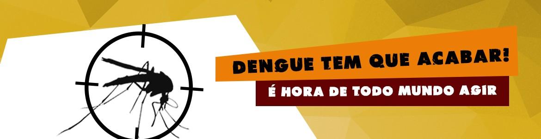 A dengue tem que acabar! É hora de todo mundo agir